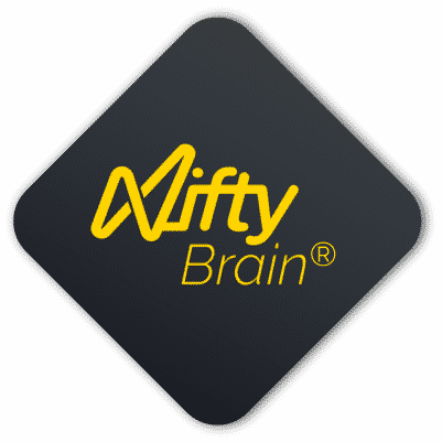 Image of the Nifty brain(R) with the R for Registered.