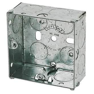 47mm Deep Pattress box